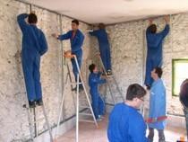 ремонт стен помещений Владивосток